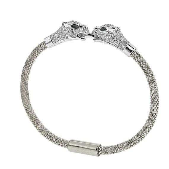 Sterling 925 Argent MICRO PAVE Zircone Cubique Boucles d/'oreilles Créoles Ovale Or Jaune Finition