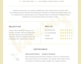 Customized Modern Slate Resume