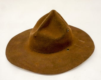 80dff043c46f0 Vintage Boy Scouts of America Scoutmaster Hat