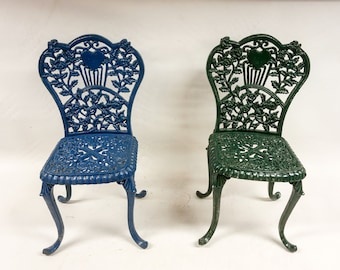 Cast Iron Chairs Etsy