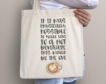 Gilmore Girls Tote Bag - café de l'amour