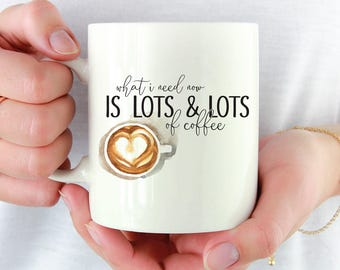 Gilmore Girls café Mug - beaucoup de café