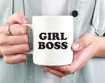 Girl Boss Mug | Feminist, feminism