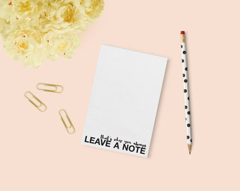 Arrested Development | Always Leave a Note Notepad