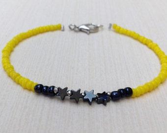 Hematites stars bracelet