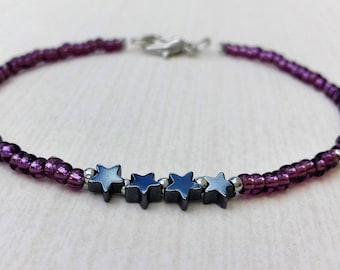 Hematites Star bracelet