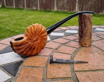 Ammonite pipe