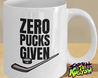 ice hockey gifts ice hockey puck mug zero pucks given ice hockey fan ice hockey player and lovers coffee cup
