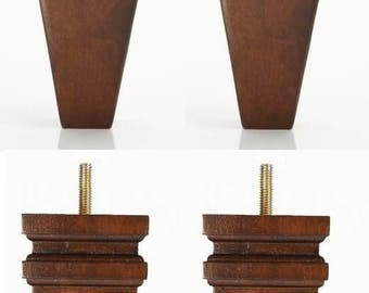 Tapered Wood Legs | Etsy