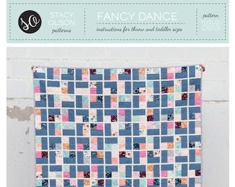 Fancy Dance Quilt PDF Pattern