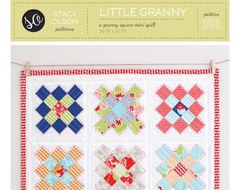 Little Granny Mini Quilt PDF Pattern