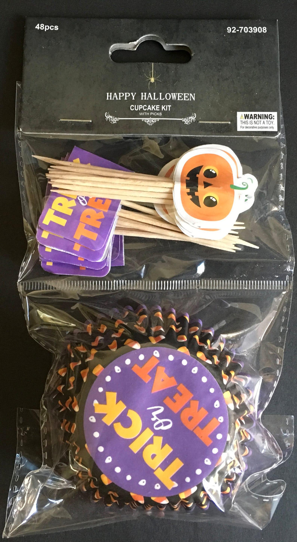 Jack O Lantern Cupcake Kits