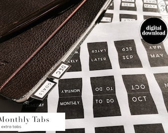 Monthly Tabs