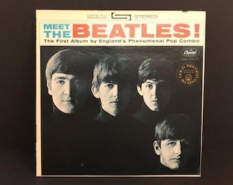 The Beatles Meet the Beatles Record Vinyl LP