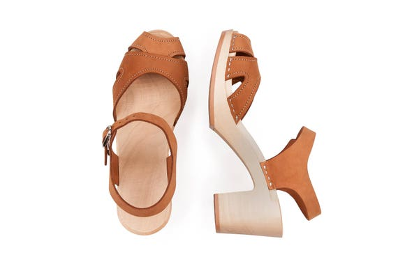 par cuir nu beige boissont de Sandales en chaussuressabots les sabots pour KulikstyleSuédois venus sabot femmeSandales sabots EYH29DWI