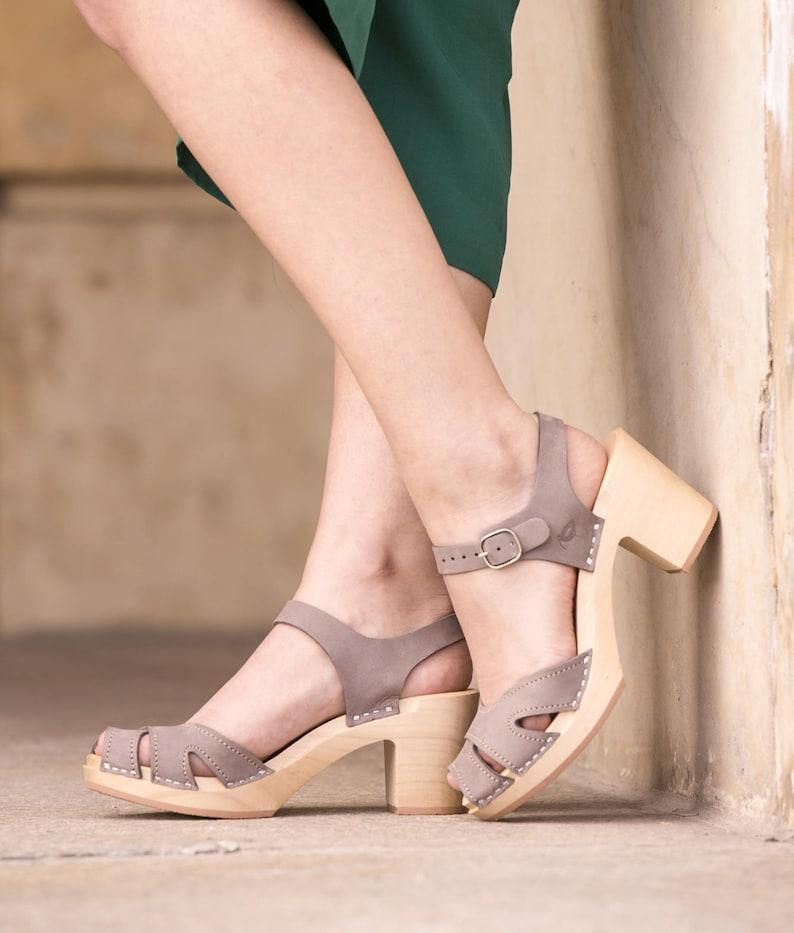 e60fcada8155 Clog Swedish Clogs Shoes Sandals clog sandals wooden
