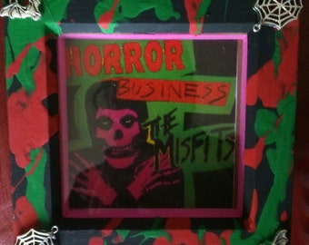 Spookshow Shrines Misfits punk art horrorpunk goth emo metal alternative horror punk