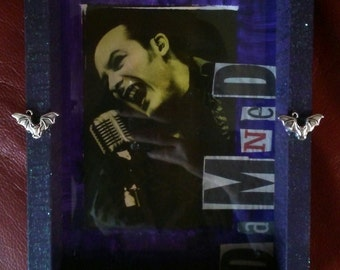 Spookshow Shrines The Damned Dave Vanian horror punk goth bats Halloween sparkles 3d