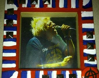Spookshow Shrines UK Subs Charlie Harper punk art shrine