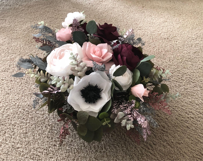 Paper Flower Arrangement Custom Order