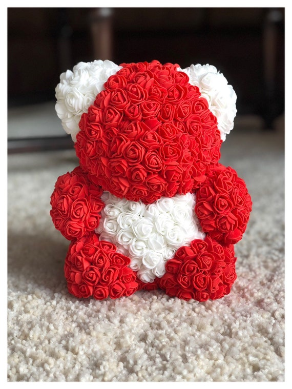 Foam flower love bear