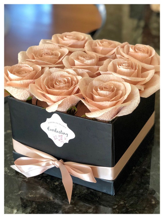 Paper roses, Everlasting Luxury Paper Flowers