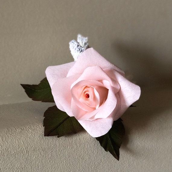 Boutonnière , paper flowers boutonnière