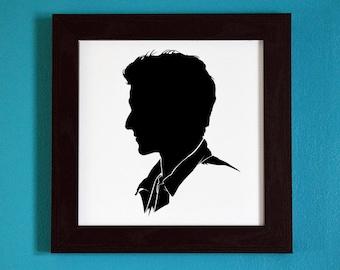 Teen Wolf - Scott McCall - Silhouette Portrait Print