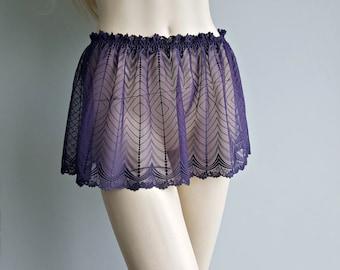 Shirt or Skirt extender, Slip extender, Skirts for Pants, Mini Short Petticoat