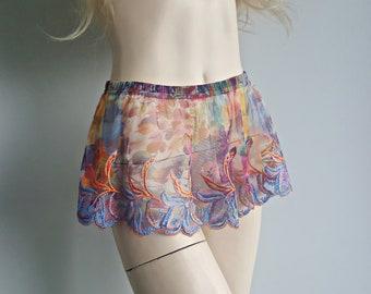 Multicolor shirt extender, Skirt extender, Skirts for Pants, Slip extender, Mini Short Petticoat