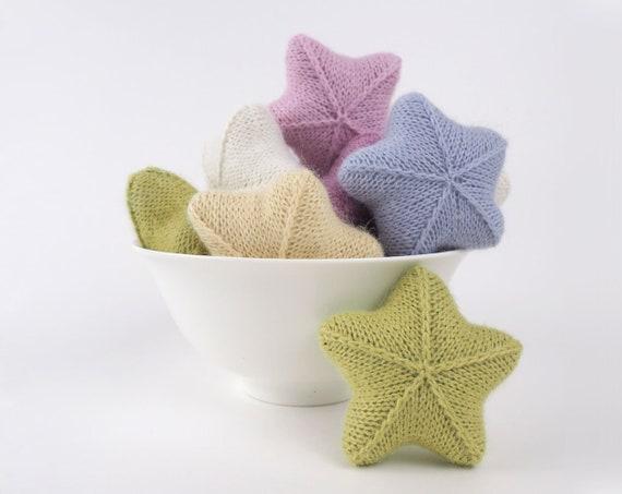 Star Toy Knitting Pattern Knitted Star Toy Pdf Tutorial Etsy