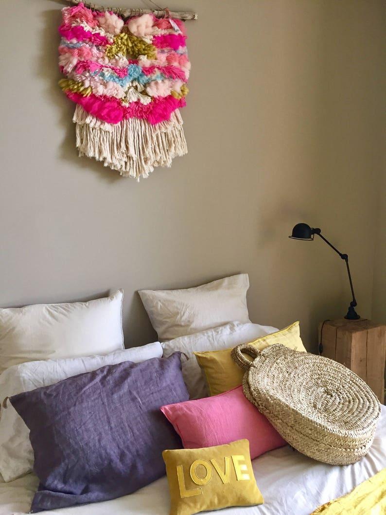 Tissage Mural Julie Oili wall weaving - big model