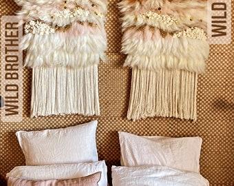 Wall weaving WILD SISTER