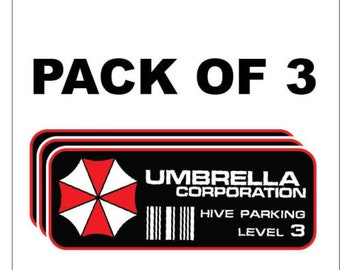 Umbrella Corporation Sticker Etsy