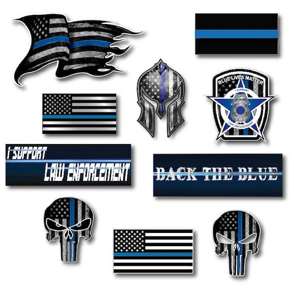 Thin Grey Line Badge Decal Correctional Officer Car Truck Vinyl USA Police Jeep