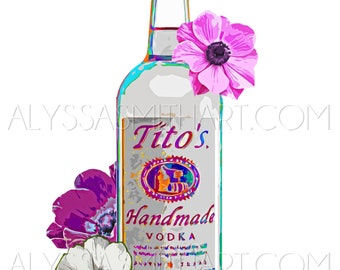 Tito's Vodka Print