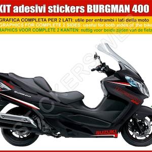 0642 Adh/ésifs Stickers pegatina Suzuki Burgman 650 Moto Motorcycle cod