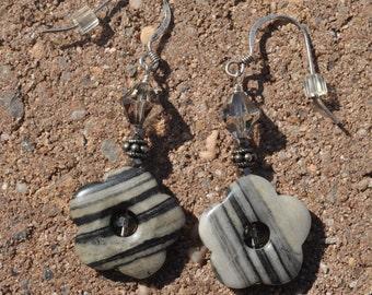 Shadow Blossom Earrings