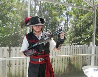 Steampunk styled Tommy gun toy/prop