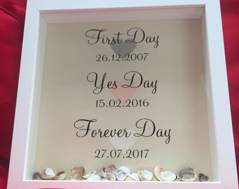 First Day, Yes Day, Forever Day frame