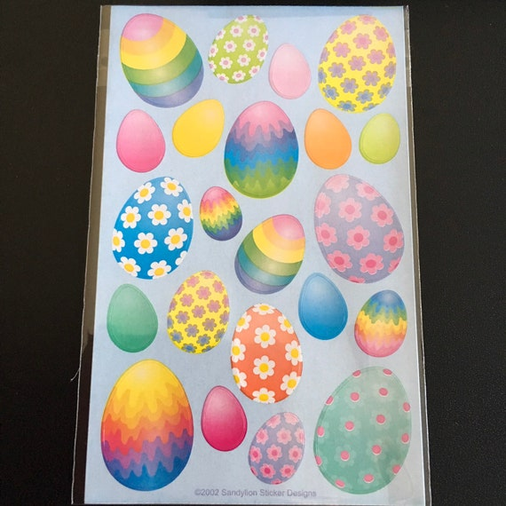 RARE RETIRED DESIGNS. Sandylion EASTER Maxi Scrapbook Scrapbooking Stickers
