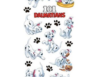 Disney Clear 101 Dalmations - Scrapbooking Stickers - Puppy Dogs