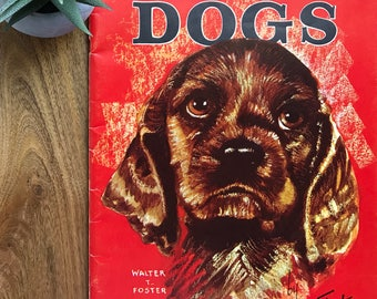 Vintage Art Magazine - How to Draw Dogs