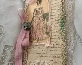 Small French Theme Journal/Gift/Album/Room Decor/Paris