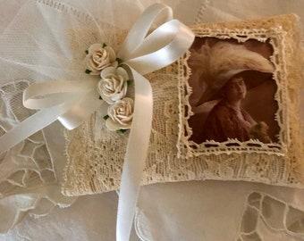 Victorian Lady Lavender Sachet! (OOAK)