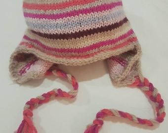 Toddler's Ear Flap Hat