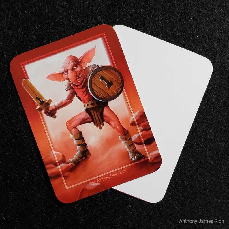 Red Goblin Creature Token Pack of 10 image 0