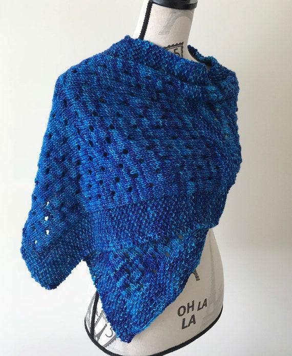 Caits Shawl Knitting Pattern Etsy