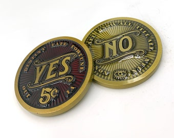 NOW SHIPPING! Madam Clara's Exclusive Yes-No Fortune Coin