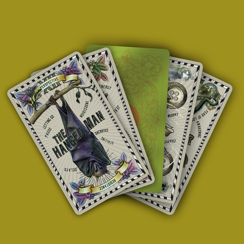 ALMOST SOLD OUT The 5-cent Tarot 1st Edition by Madam Clara. image 0
